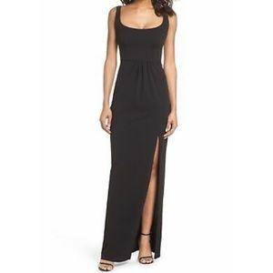 Katie May Sheath Scoop Neck Dress - Black